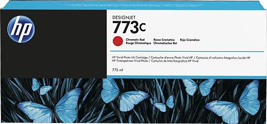 Картридж HP 773C хроматический красный [c1q38a]