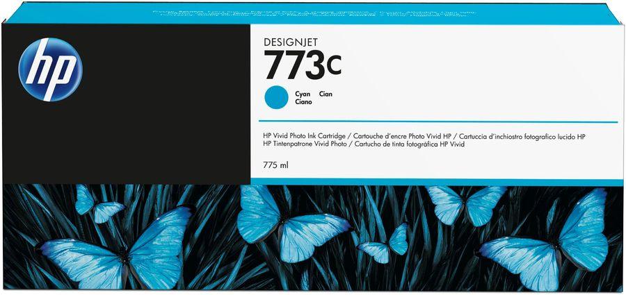Картридж HP 773C голубой [c1q42a]