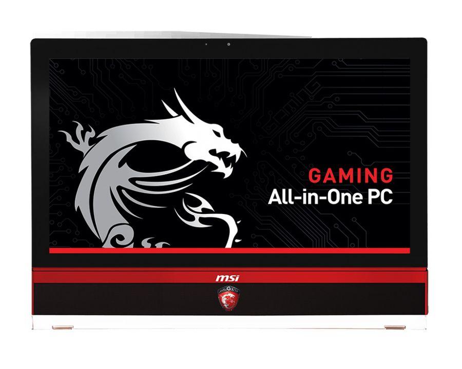 Моноблок MSI AG270 2QE-065, Intel Core i7 4870HQ, 8Гб, 1000Гб, nVIDIA GeForce GTX 980M - 8192 Мб, DVD-RW, Windows 8.1, черный и красный [9s6-af1811-065]