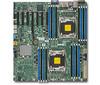 Серверная материнская плата SUPERMICRO MBD-X10DRH-I-O,  Ret вид 1