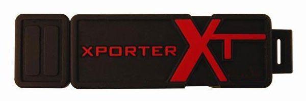 Флешка USB PATRIOT X-porter XT Boost 16Гб, USB2.0, черный и красный