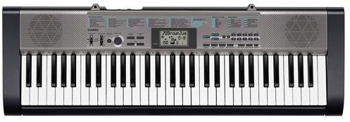 Синтезатор CASIO CTK-1300, 61, невзвешенная, полноразмерные, 12, черный