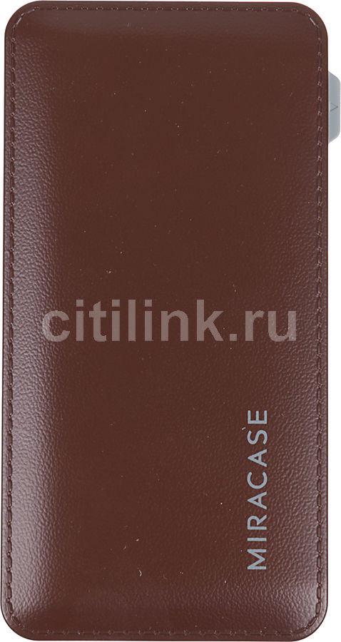 Внешний аккумулятор MIRACASE MACC-829,  6000мAч,  коричневый