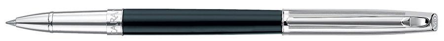 Ручка роллер Carandache Madison (4670.456) Bicolor Black SP подар.кор.