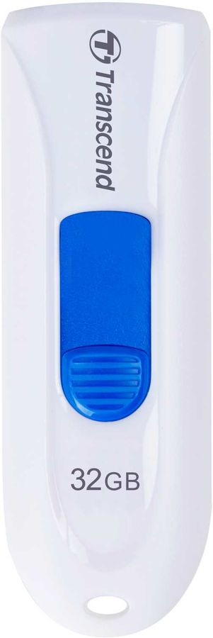 Флешка USB TRANSCEND Jetflash 790 32Гб, USB3.0, белый [ts32gjf790w]