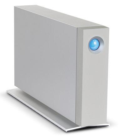 Внешний жесткий диск LACIE d2 9000492EK, 3Тб, серебристый [lac9000492ek]