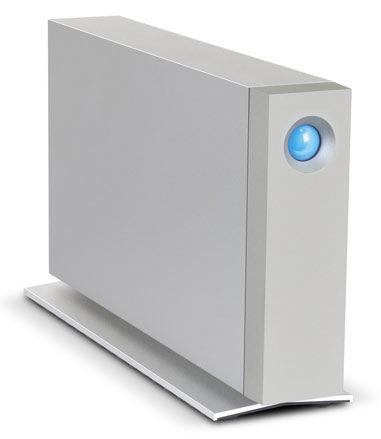 Внешний жесткий диск LACIE d2 9000493EK, 4Тб, серебристый [lac9000493ek]