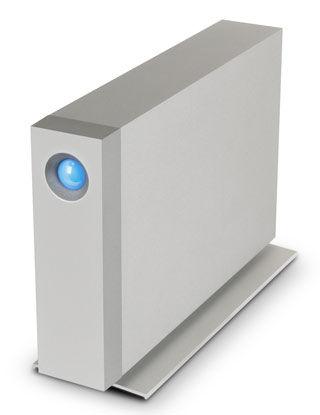 Внешний жесткий диск LACIE d2 9000444, 5Тб, серебристый