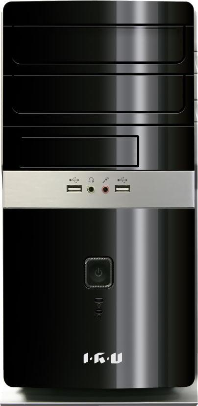 Компьютер  IRU Corp 310,  Intel  Pentium  G3220,  DDR3 2Гб, 500Гб,  Intel,  DVD-RW,  Windows 7 Professional,  черный [987186]