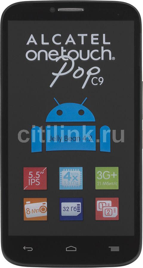 Смартфон ALCATEL Pop C9 7047D,  черный