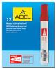 Маркер для досок Adel 420-1880-020 круглый пиш. наконечник 2мм черный вид 2