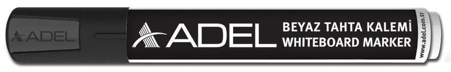 Маркер для досок Adel 420-1880-020 круглый пиш. наконечник 2мм черный