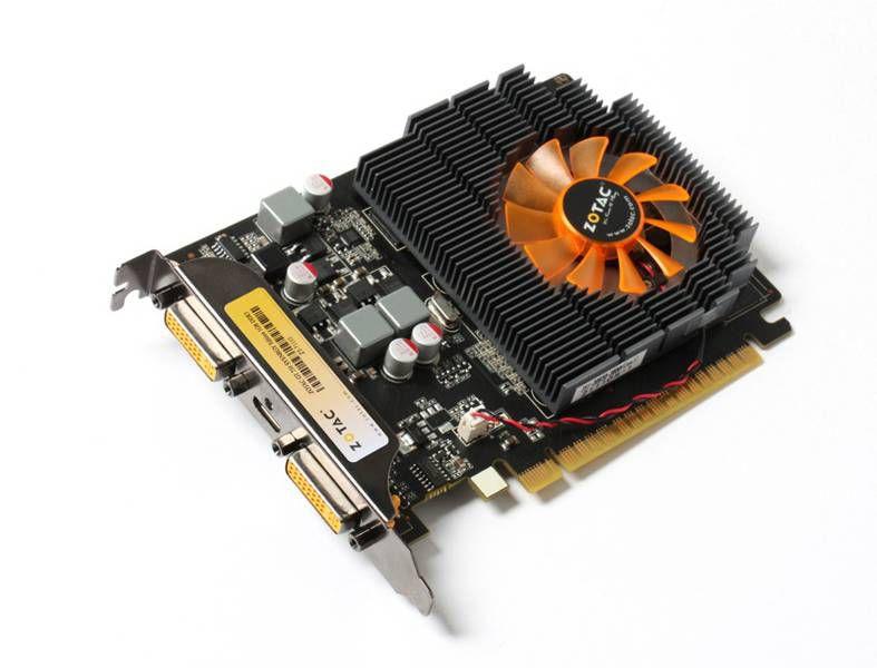 Видеокарта ZOTAC GeForce GT 730,  1Гб, DDR3, Low Profile,  Ret [zt-71110-10l]