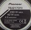Колонки автомобильные PIONEER TS-G1731I,  широкополосные,  230Вт вид 3