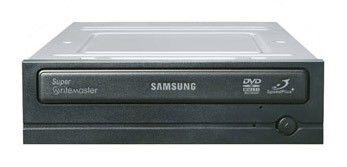 Оптический привод DVD-RW SAMSUNG SH-S223В/BEBE(N), внутренний, SATA, черный,  OEM
