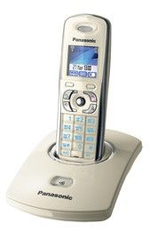 Радиотелефон PANASONIC KX-TG8301RUJ,  бежевый