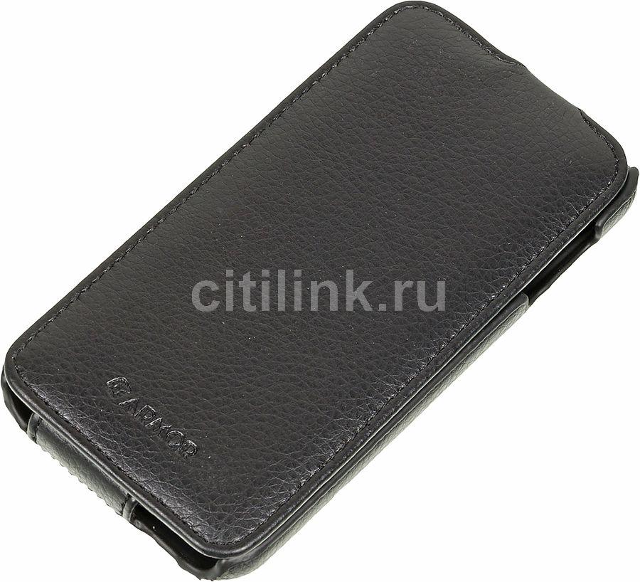 Чехол (флип-кейс) ARMOR-X flip full, для HTC Desire 510, черный