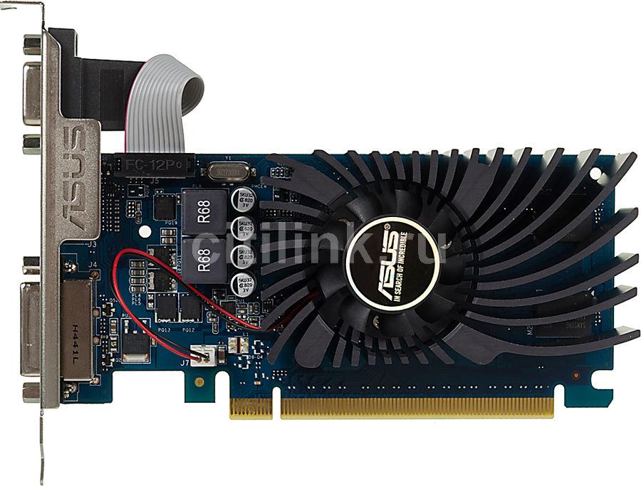 Видеокарта ASUS GeForce GT 730,  GT730-2GD5-BRK,  2Гб, GDDR5, Low Profile,  Ret