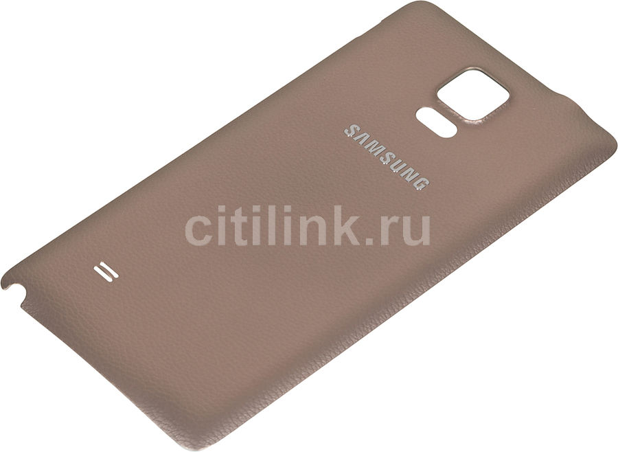 Задняя крышка SAMSUNG EF-ON910SEE,  Samsung Galaxy Note 4,  золотистый [ef-on910seegru]