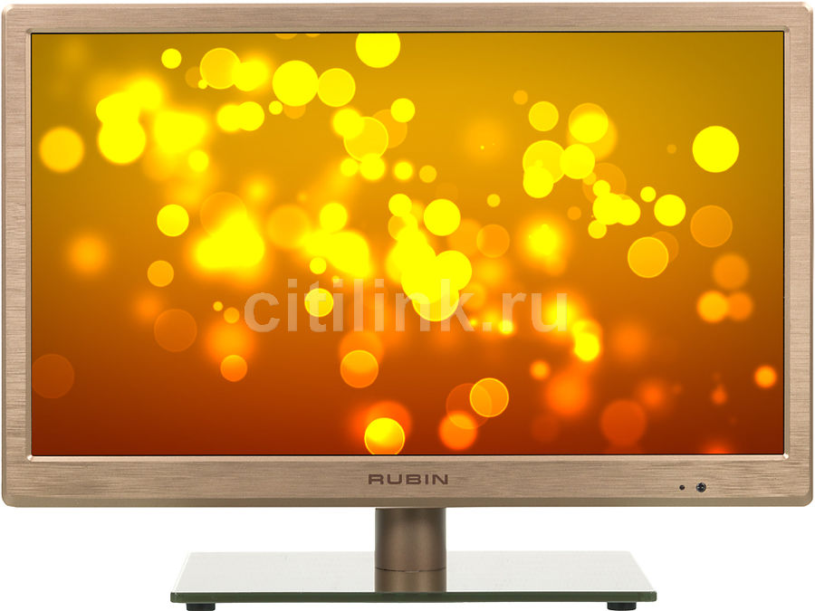 "LED телевизор RUBIN RB-19SE5T2CBR  ""R"", 19"", HD READY (720p),  бронзовый"