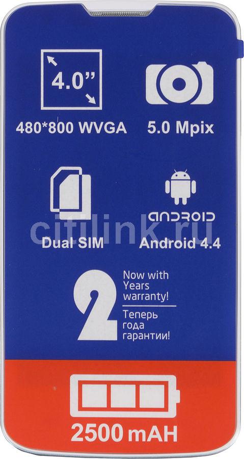 Смартфон FLY Era Energy 2 IQ4401,  белый