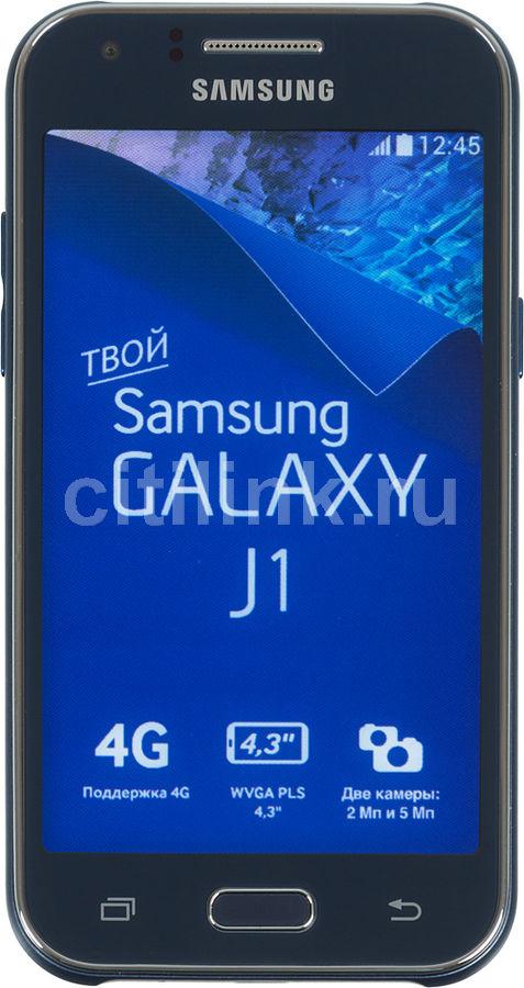 Смартфон SAMSUNG Galaxy J1 SM-J100F,  синий