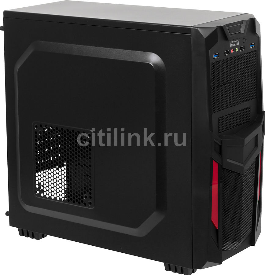 ПК I-RU City в составе INTEL Core i5 3470/ASUS P8Z77-V LX/8GB/GeForce GTX750 2GB/128GB/600W/