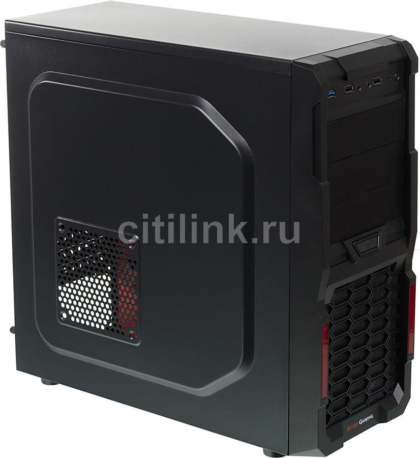 ПК iRU City 101 в составе INTEL i5 7400/MSI H110M PRO-D/2x8Gb/GTX1050TI 4Gb/240Gb/3Tb/600W
